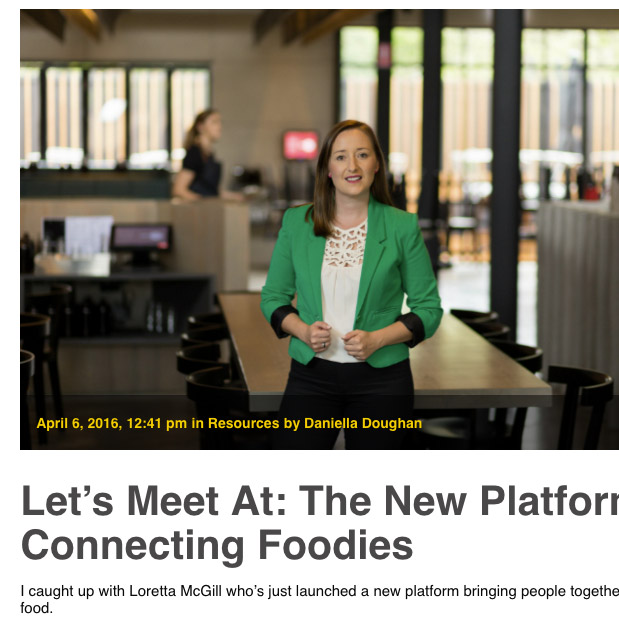 The new platform connecting foodies